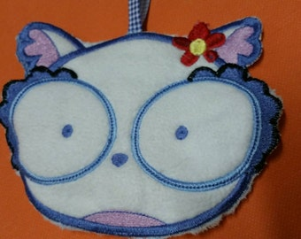 Heating pad for baby bottle baby bottle embroidered for baby hot/cold OWL hot water bottle hot owl bottle flax seeds