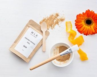 Organic Orange Peel Powder Face Mask