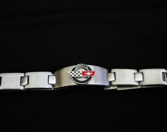 Corvette C4 Stainless Steel Bracelet