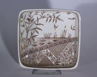 Vintage 1883 W.H. Grindley & Co Burmah Pattern Compote