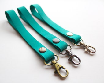 Wrist Strap. Wrist Keychain. Leather Keychain. Leather Lanyard