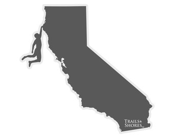 California Climbing Decal