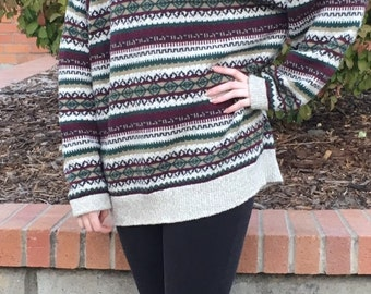 Vintage Multi-colored Sweater