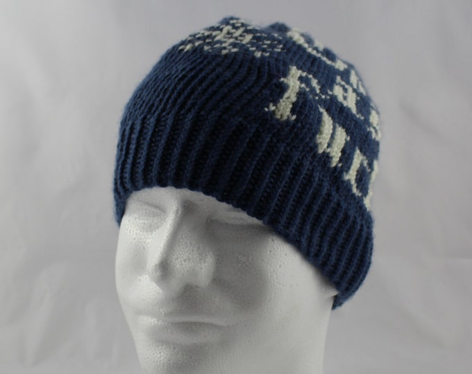 Instant download Knitting Pattern - Hat - Cold As F**K