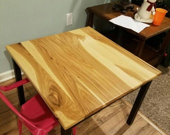 Kids table, coffee table, solid wood, natural furniture, kids furniture, living room furniture