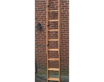 Decorative Wood Ladder - Custom built to order