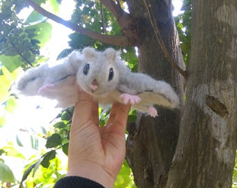 Needle Felted Russian Flying Squirrel