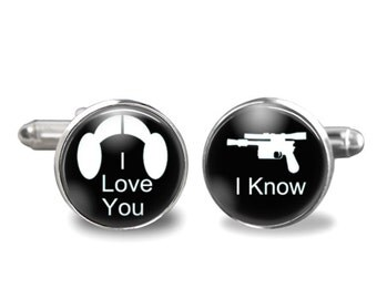 Han Solo Cuff Links Etsy