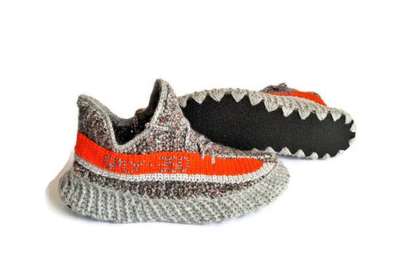 45b827cbf2ae2 chic Crochet Hand Knitted Adidas Yeezy Boost Sply 350 Hand Knitted ...