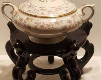 Vintage China Reverie Vegetable Serving Bowl by Lamberton