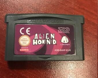 Alien Hominid GBA Fan hack New listing