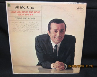 Al Martino Love You More Every Day - Capitol Records