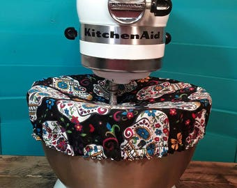 Kitchenaid Cover/ Sugar Skulls/Day of the Dead/REVERSIBLE