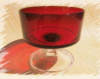 Dessert bowls vintage glass bowls