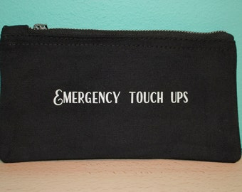 Emergency touch ups – Black make up pouch