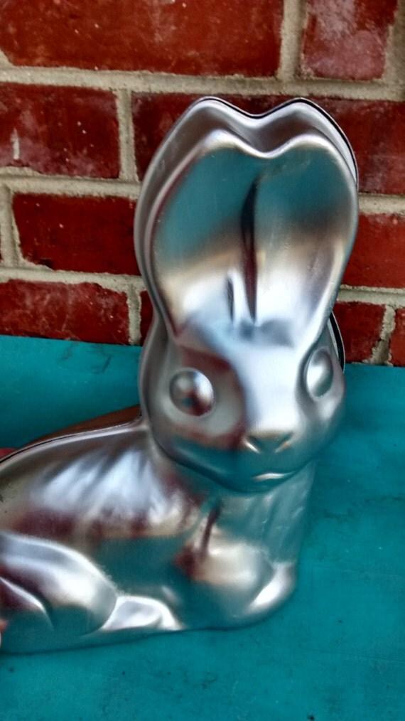 Rabbit Cake Pan Vintage Bunny 3d Cake Pan Wilton Easter Bunny