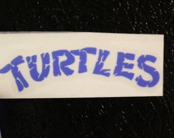 Teenage Mutant Ninja Turtle Decal Any Size Any Colors