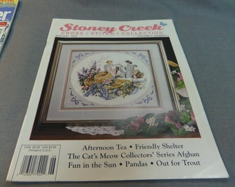 Counted Cross Stitch Patterns, Stoney Creek Collection Magazine Back Issue May June 1993