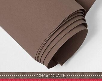 "Kraft-tex Kraft Paper in Chocolate from C & T Publishing 18"" x 58"" - Kraft Paper Fabric, Kraft Tex, Krafttex"