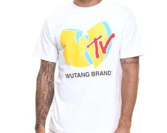 Wu Tang t-shirt, Yo MTV Raps fan hadmade Wu-Tang jersey, Wu Tang Clan shirt 90s rap nwot new, size S M L XL XXL