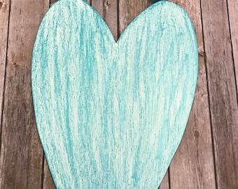 Heart Decor, Heart Decoration, Valentines Day, Cute Heart Decor, Baby's Room, Cute Kids Decor, Anniversary Gift, Wedding Gift, Rustic Heart