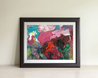 Abstract Painting, Abstract Flowers, Abstract Landscape, Abstract Art, Home Decor Living Room Bedroom Office Wall Art Ideas Gifts