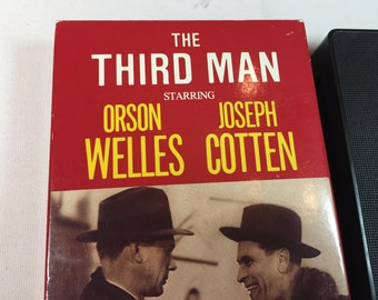 THE THIRD MAN - Joseph Cotton Orson Wells Trevor Howard B&W 1949 104 Mins