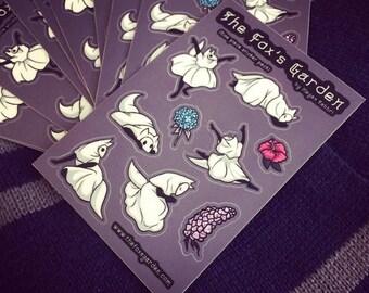 The Fox's Garden Sticker Sheet