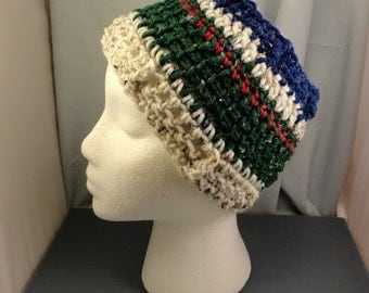 Crocheted Headband or Neck Warmer