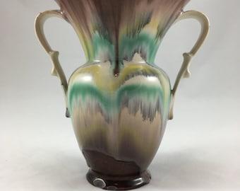 Vintage 1960s-'70s West German Fat Lava Vase