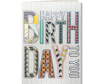 Geo - Happy Birthday Dad - Birthday Card - Dad Birthday Card -  To an Awesome Dad - GE05