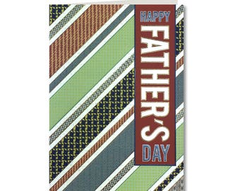 Geo Collection - Fathers Day Card - Happy Fathers Day - Handmade Greeting Card - GE23