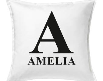 Personalised Name Letter Cushion