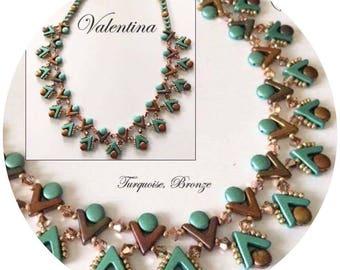KIT diy necklace VALENTINA