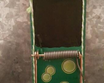 Chalkboard clip bubble magnet