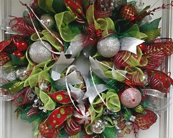 Extravagant Christmas Wreath