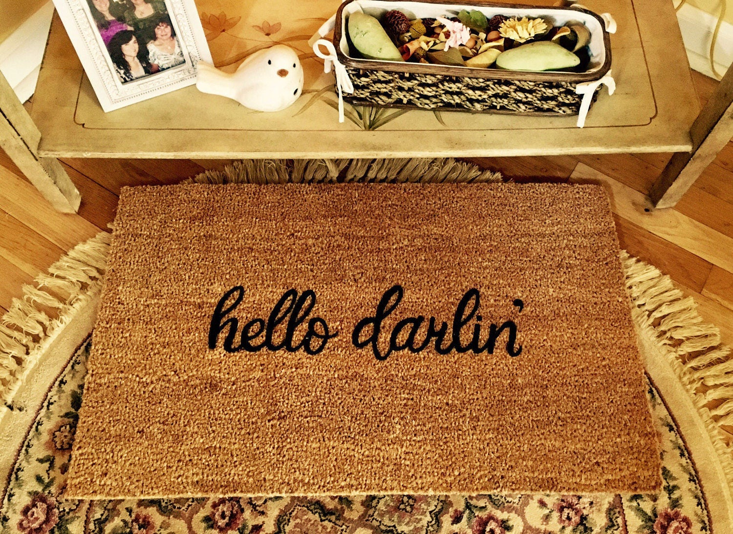 Floor mats kenya - Custom Door Mat Hello Darlin Door Mat Door Mats With Sayings Cute Door Mat Painted Doormat Doormats Outdoor Mats Welcome Mats