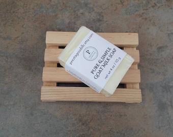 Pure Goat Milk Soap - 4 oz bar