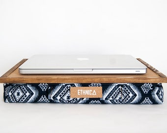 Laptop Table With Pillow / Laptop Stand / Laptop Desk / Student Lapdesk / Lap Desk / Serving Tray / Laptop Cushion / Ergonomic Laptop Desk
