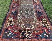 Persian Hand-Knotted Mala...