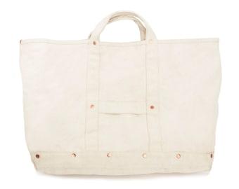 Grand Hanh Supreme Quality Canvas Tool bag / canvas tote bag / canvas bag / tool bag / vintage canvas tote bag / garden tote / garden bag