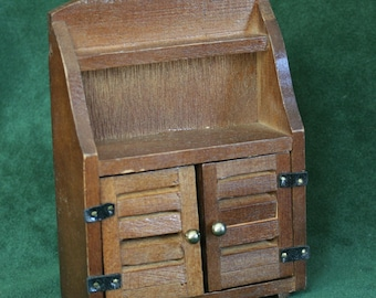 Miniature Dining Room Hutch, Miniature Cabinet