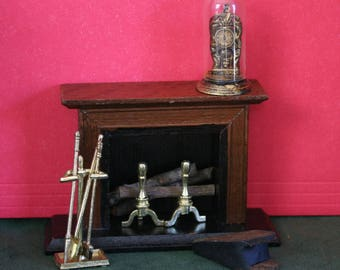 Miniature Fireplace and Accessories, Fire Tools
