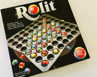 Rolit Abstract Strategy Game, Similar to Othello - COMPLETE
