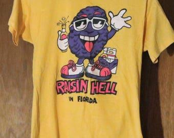 Vintage New Raisin Hell in Florida T-Shirt