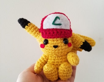 Pokemon: Pikachu Plush in Ash's Hat