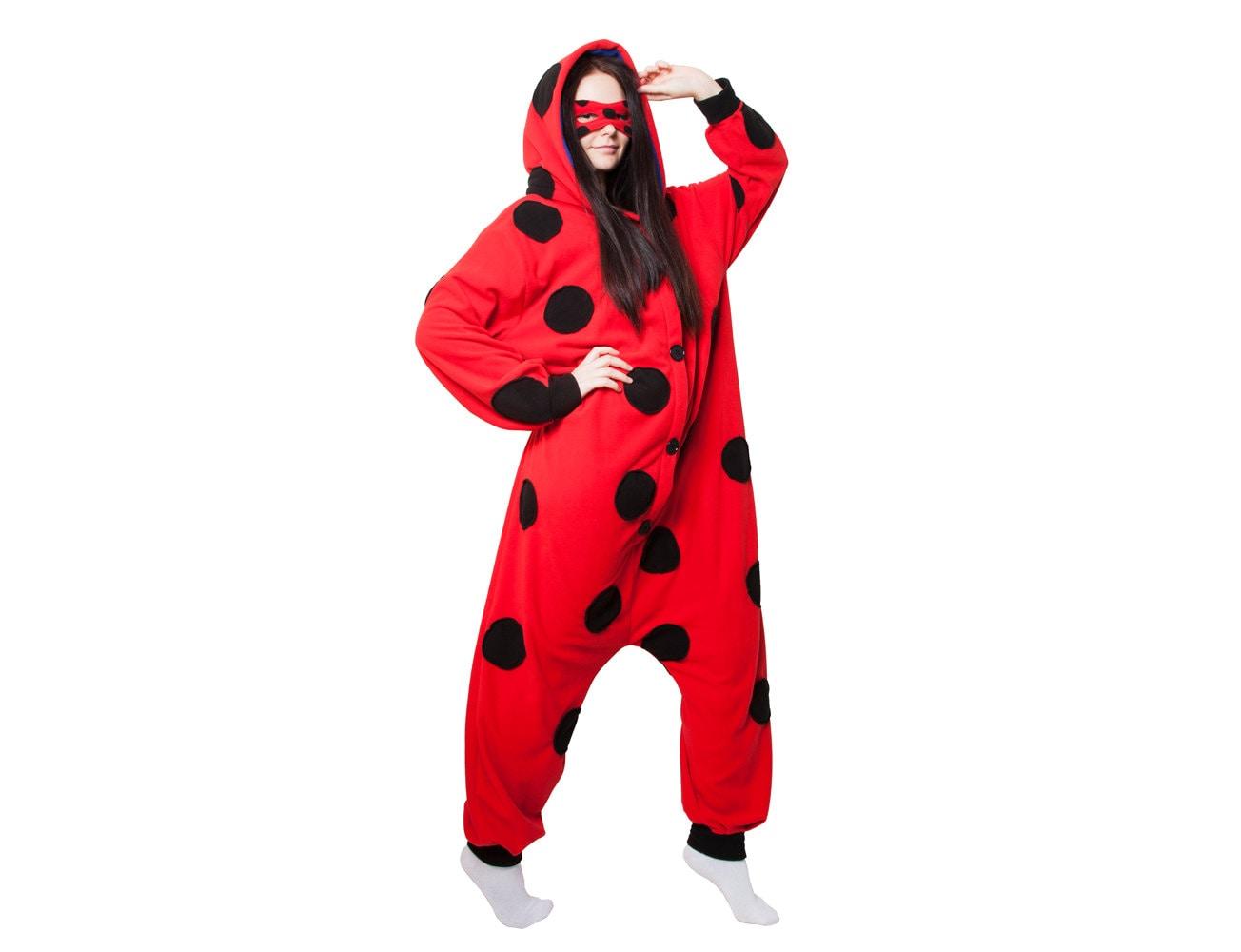 Kigurumi Miraculous Ladybug Pants Clothing Zeppy