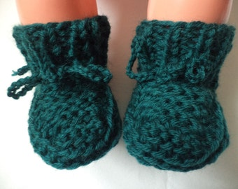 Baby shoes knit socks wool wool shoes