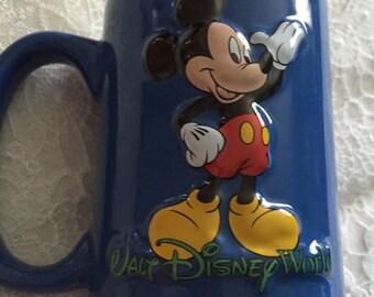 Walt Disney ~ Embossed ~ Mickey Mouse ~ Mug