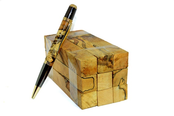 Spalted Beech Wood ~ Irish beech wood spalted pen blanks turning supplies